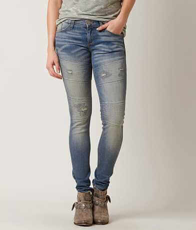 Gilded Intent Moto Skinny Stretch Jean