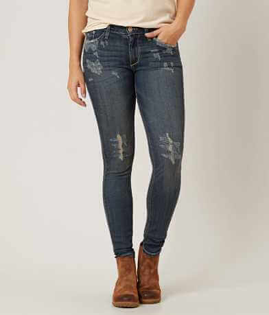 Gilded Intent Mid-Rise Skinny Stretch Jean
