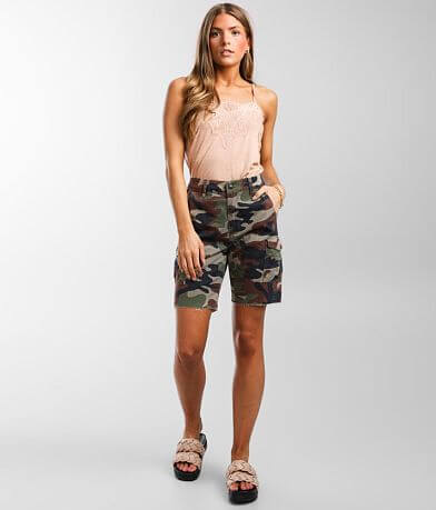 Gilded Intent High Rise Camo Cargo Short