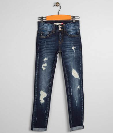 KanCan Skinny Stretch Cuffed Jean