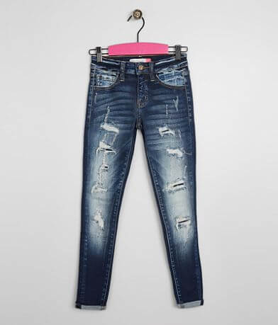 Girls - KanCan Skinny Stretch Cuffed Jean