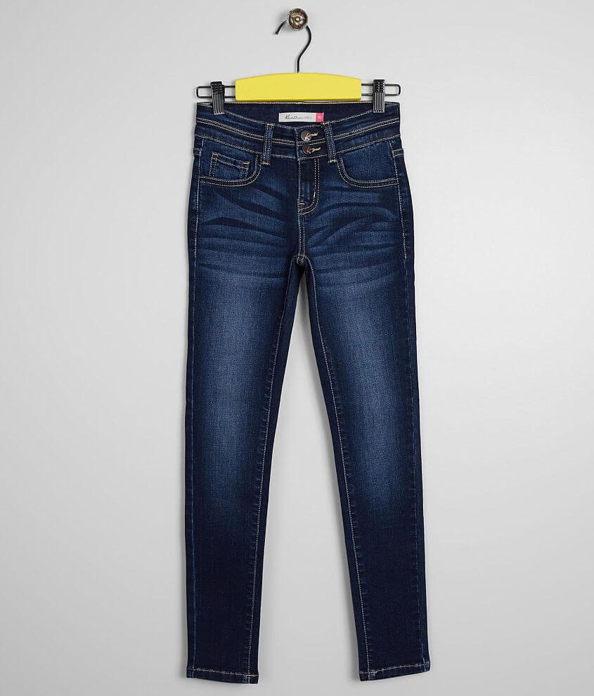 Girls - KanCan Slim Mid-Rise Skinny Stretch Jean front view