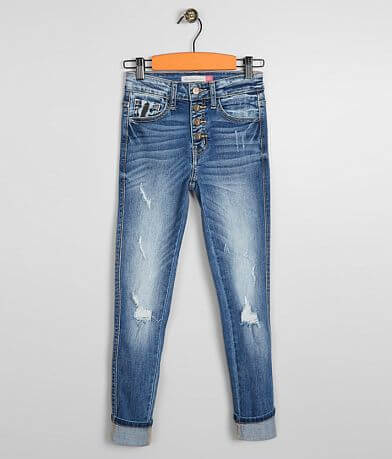 Girls - KanCan Ankle Skinny Stretch Cuffed Jean
