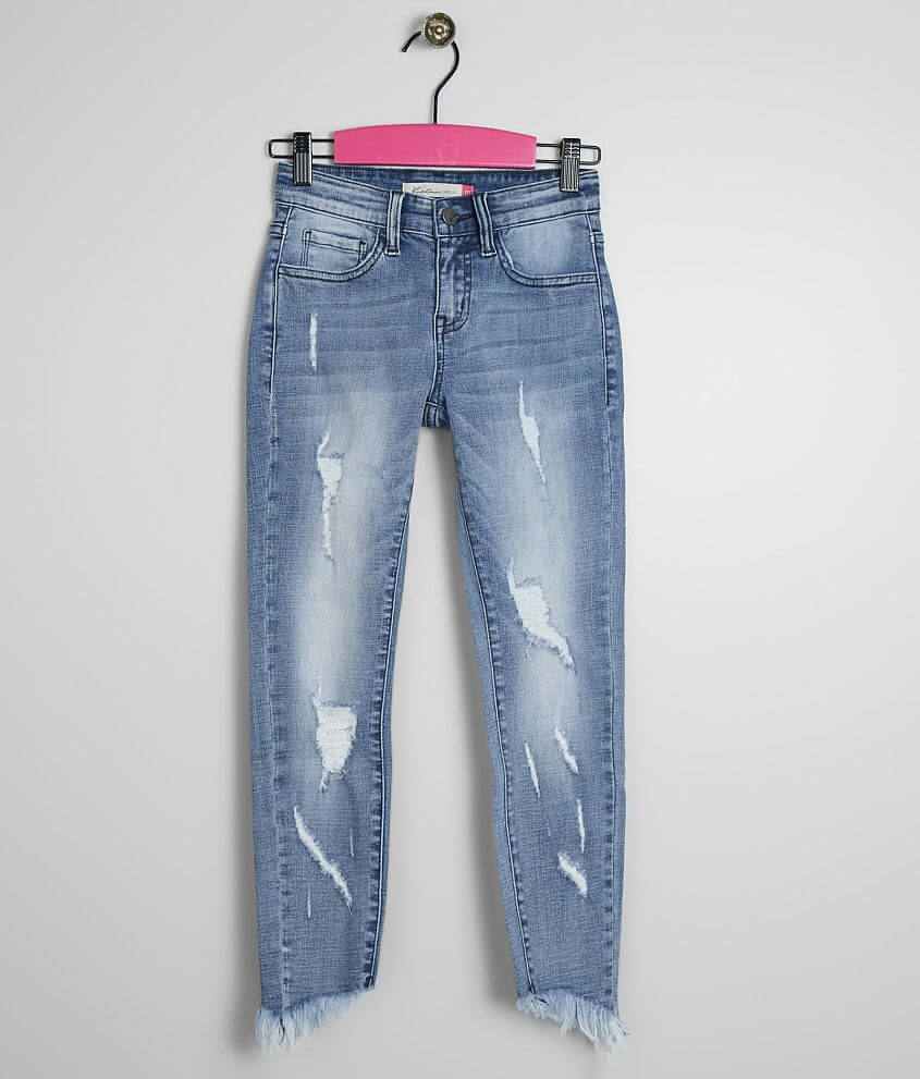 Girls - KanCan Mid-Rise Ankle Skinny Stretch Jean