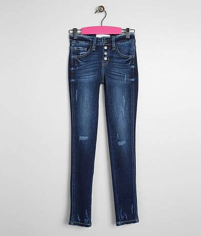 Girls - KanCan Signature Mid-Rise Ankle Jean