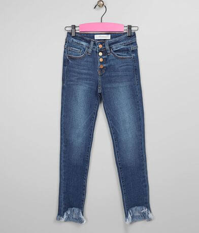 Girls - KanCan Signature Slim Mid-Rise Ankle Jean