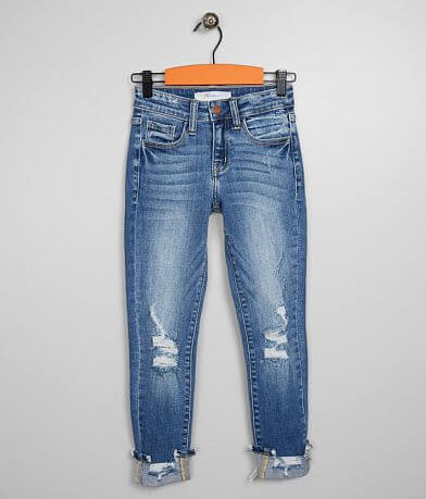 Girls- KanCan Signature Slim Mid-Rise Ankle Jean