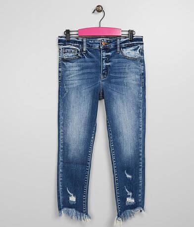 Girls - KanCan Signature Relaxed Mid Ankle Jean