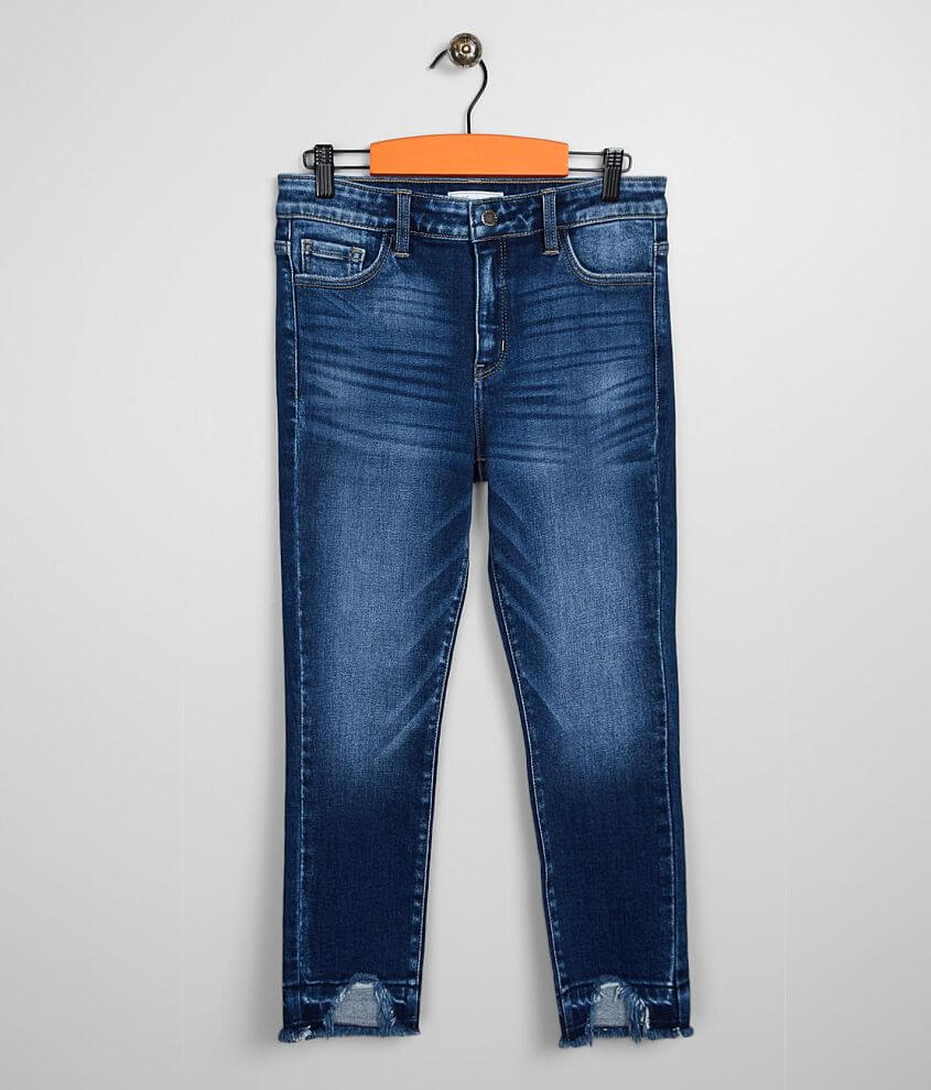 Girls - KanCan Signature Relaxed Mid Ankle Jean front view