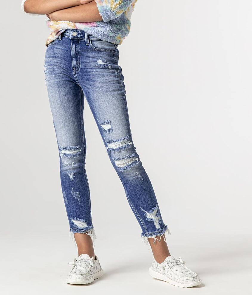 Girls - KanCan Signature Slim High Rise Ankle Jean front view