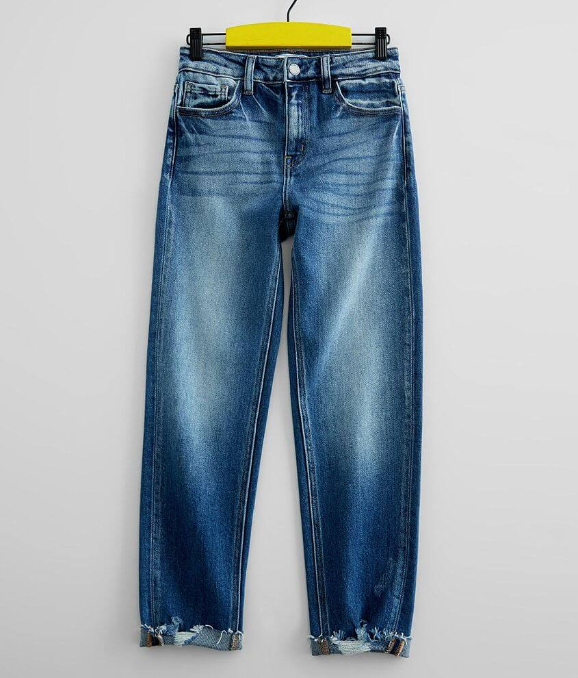 Girls - KanCan Signature High Rise Mom Fit Jean front view