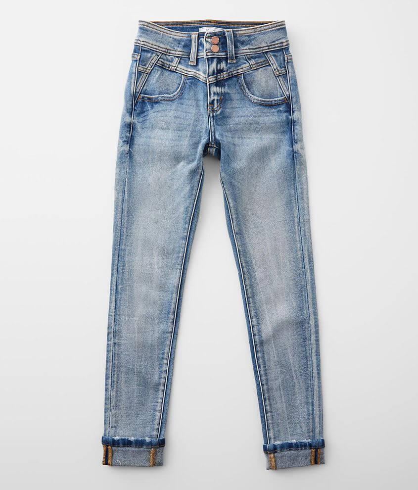Girls- KanCan Signature Slim High Rise Skinny Jean front view