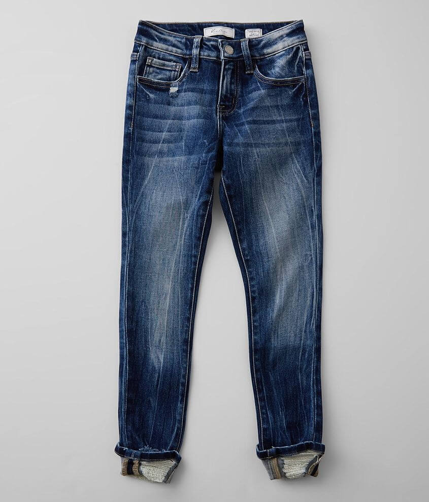 Girls - KanCan Signature Slim Mid-Rise Ankle Jean front view