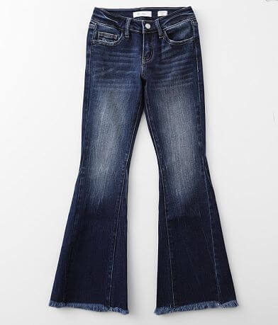 Girls - KanCan Signature Slim Mid-Rise Flare Jean