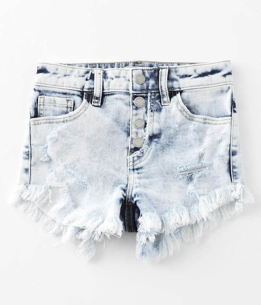 Girls - KanCan Signature Slim Fit High Rise Short front view