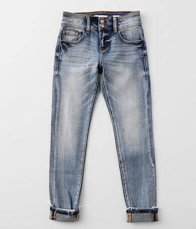 Girls- KanCan Signature Mid-Rise Ankle Skinny Jean