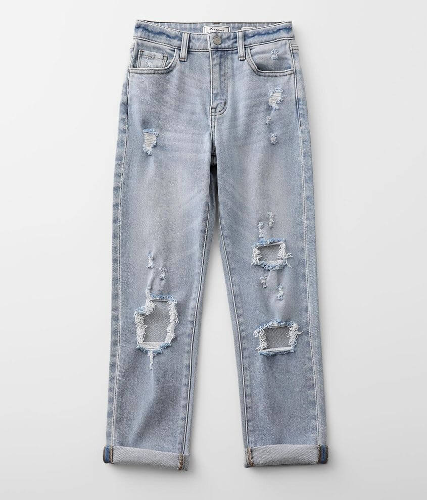 Girls - KanCan Signature Mom Jean front view