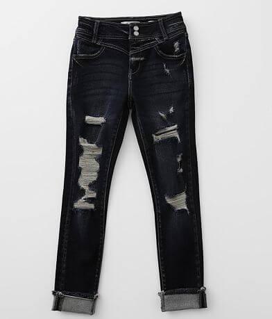 Girls - KanCan Signature High Ankle Skinny Jean