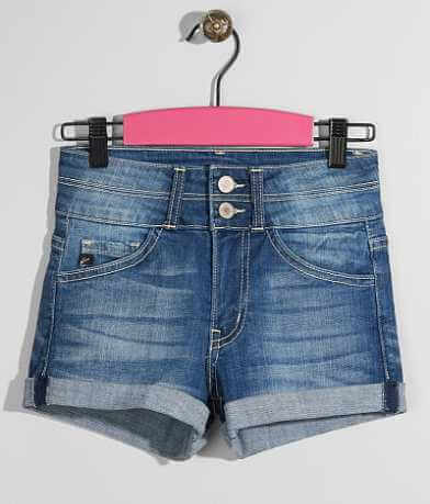 Girls - KanCan Stretch Cuffed Short