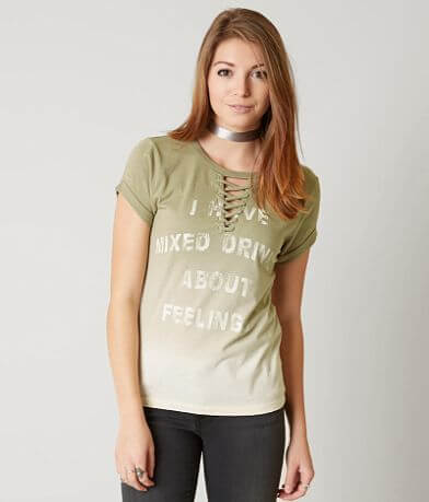 Modish Rebel Mixed Drinks About Feelings T-Shirt