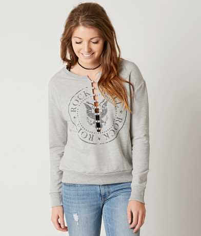 Modish Rebel Rock & Roll Sweatshirt