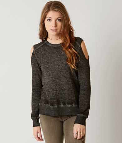 Modish Rebel Cold Shoulder Sweatshirt