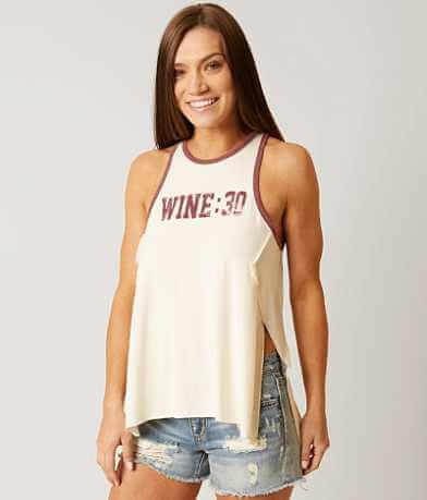 twine & stark Wine:30 Tank Top