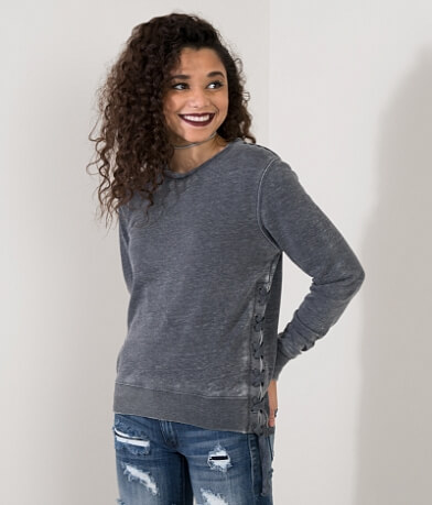 FITZ + EDDI Burnout Sweatshirt