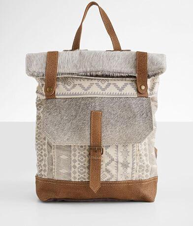 Myra Bag Classy Southwestern Leather Backpack