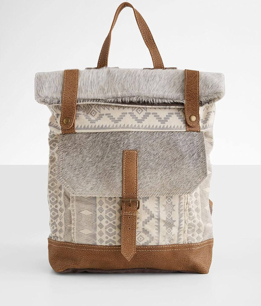 Myra Bag Classy Southwestern Leather Backpack Women S Bags In Beige Multi Buckle Look for mayko winter collection. myra