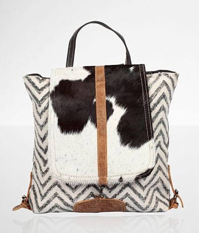 Myra Bag Frost Cowhide Leather Backpack