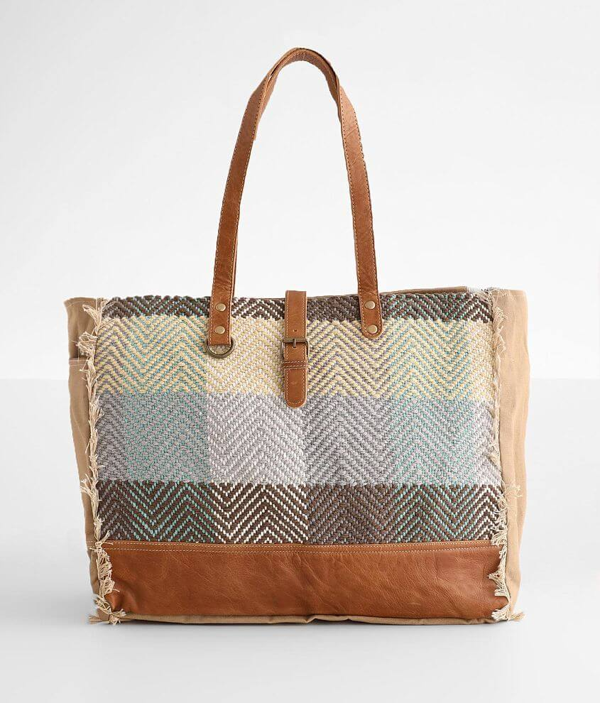 Myra Bag Color Chunk Tote front view