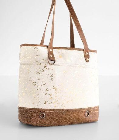 Myra Bag Pieced Leather Tote