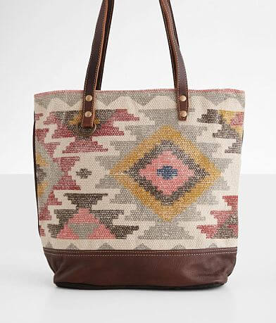Myra Bag Exemplar Leather Tote Purse