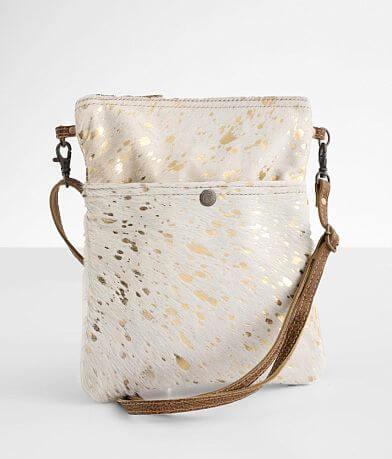 Myra Bag Speckled Leather Crossbody Purse
