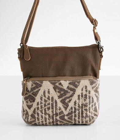Myra Bag Coffee Leather Purse