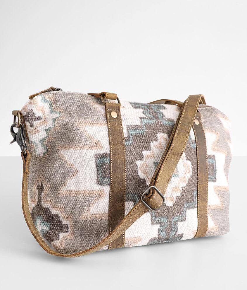 Myra Bag Pink Palettes Mini Duffle Bag front view