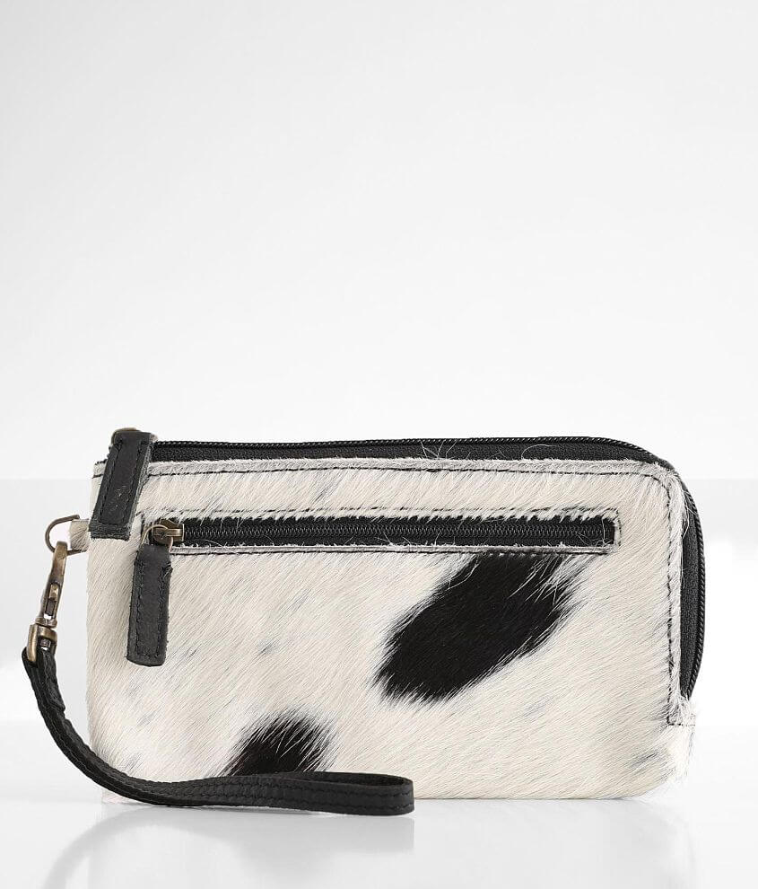 Myra Bag Slayer Cowhide Leather Wallet front view