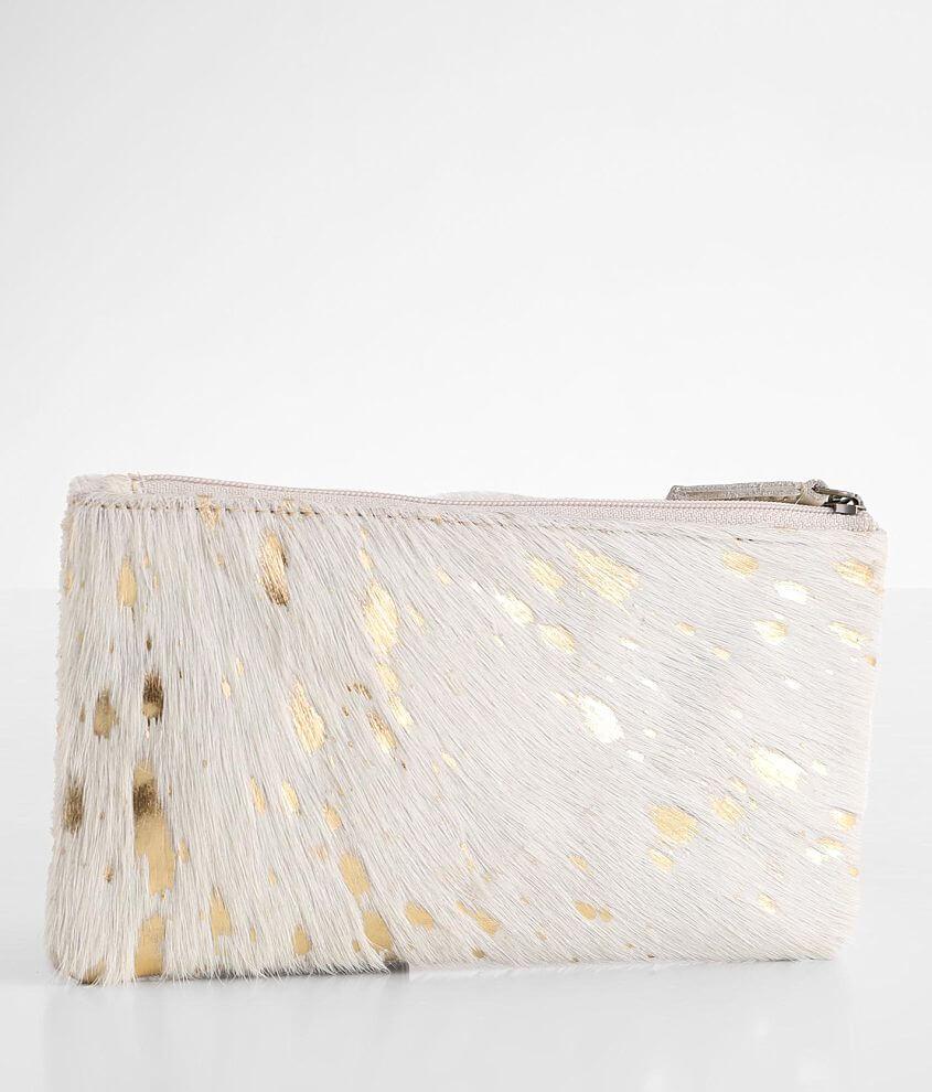 Myra Bag Sparkle Sharkle Leather Wallet front view