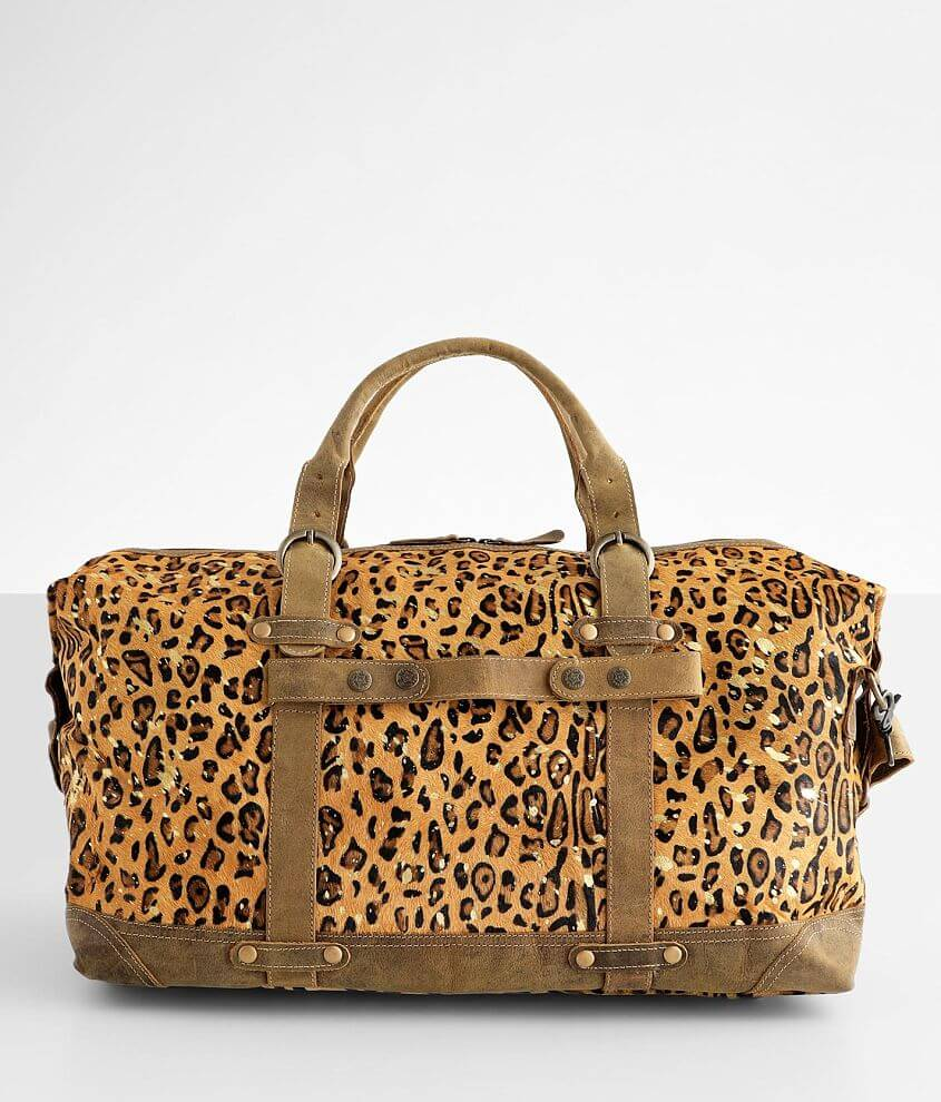 Myra Bag Vibrant Leather Duffle Bag front view