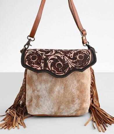 Myra Bag Blossom Leather Purse