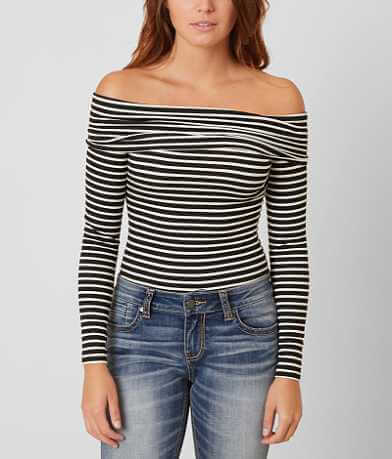 Daytrip Striped Bodysuit