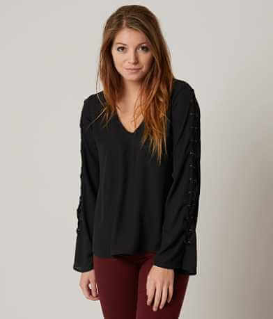 Daytrip Lace-Up Top