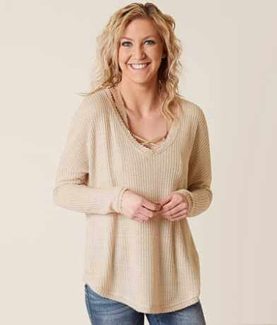 Daytrip Waffle Thermal Top