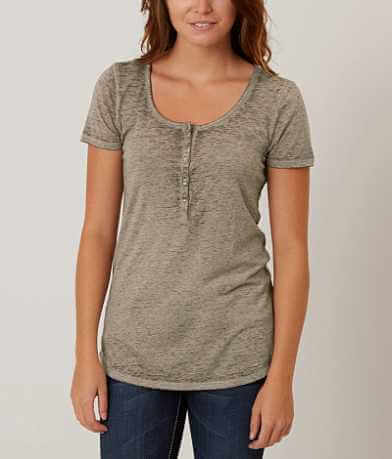 Daytrip Burnout Henley Top