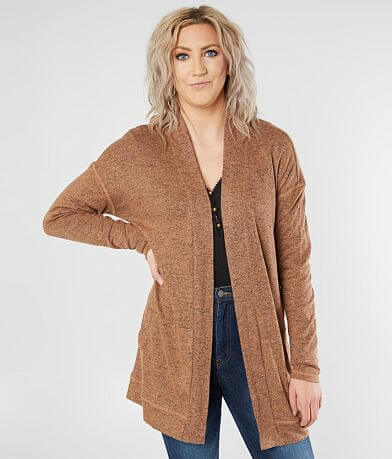 Daytrip Heathered Knit Cardigan