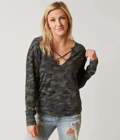 Daytrip Camo Sweatshirt