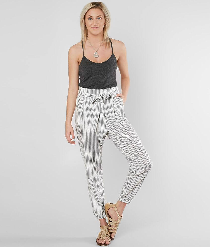 b525f247ea29 Daytrip Striped Jumpsuit - Women s Rompers Jumpsuits in Ivory Black ...
