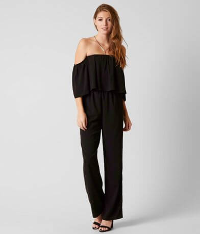 Daytrip Off The Shoulder Jumpsuit