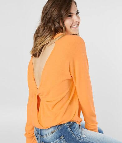 Daytrip Neon Fleece Top